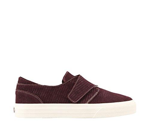Embossed Footwear Sneaker Women's Suede Soul Taos Bordeaux nAf8qw6