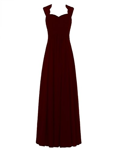 ThaliaDress Women's Sweetheart Chiffon Bridesmaid Dress Prom Gown T291LF