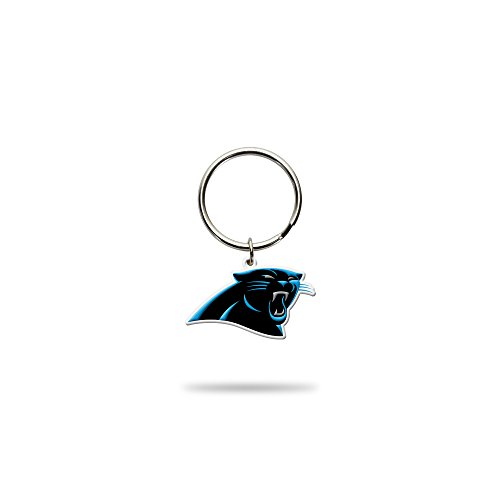 Rico Industries NFL Carolina Panthers Flexible Team Logo Keychain ()