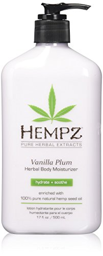 Hempz - Vanilla Plum Herbal Body Moisturizer - 17 oz