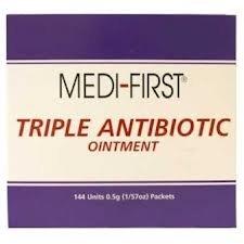 HART Health Triple Antibiotic Ointment, 0.5gm, 25/box, 3-Box Set