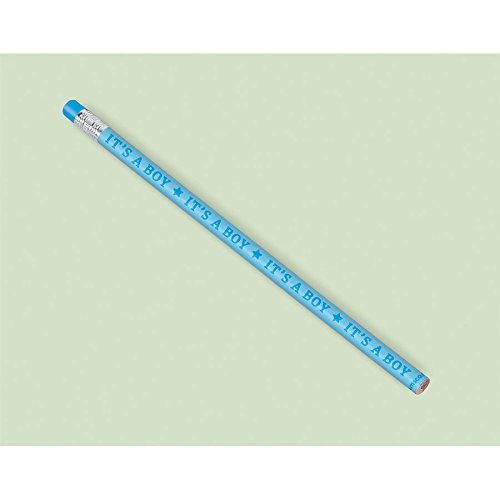 Amscan Blue Baby Shower Pencils (Baby Shower Pencils)
