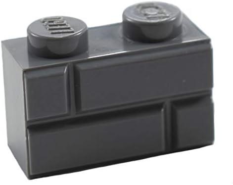 BRICKS LEGO DARK GRAY 1 X 2 50