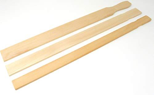 Hardwood Stirring Paddle - Henry's Paint Mixer Stir Sticks 21 x 1-1/2 Bulk Qty 250 Wood Paint Paddles, Heavy Hardwood Sticks for Mixing and Stirring, Unrivaled Quality as Wood Craft Sticks, USA