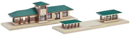 Kato USA Model Train Products North American Suburban Station kit ()