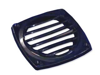 Abs Plastic Black Louvered Round Thru-vent for Boat, Caravan & Rv – Five (Abs Hose Vent)