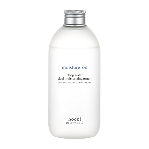 Dual Water - NOONI Moisture-On Deep Water Dual Moisturizing Toner 310mL #allskintypes 8.8 Ounces, Without paraben and alcohol, Moisturizer, Facial toner