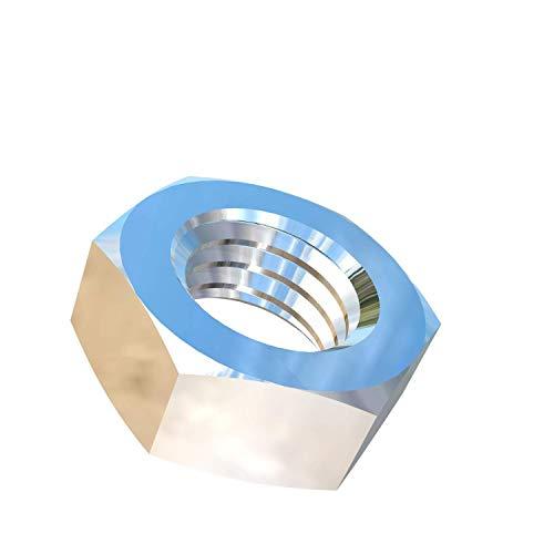 - Allied Titanium 0004744, (Pack of 4) 5/8-11 UNC Titanium Jam Nut, Grade 2 (CP)