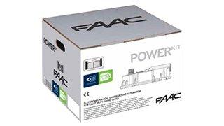 Motori Per Cancelli A Due Ante Faac.Faac Power Kit 106746445 Green Con Due Attuatori Motore Interrato