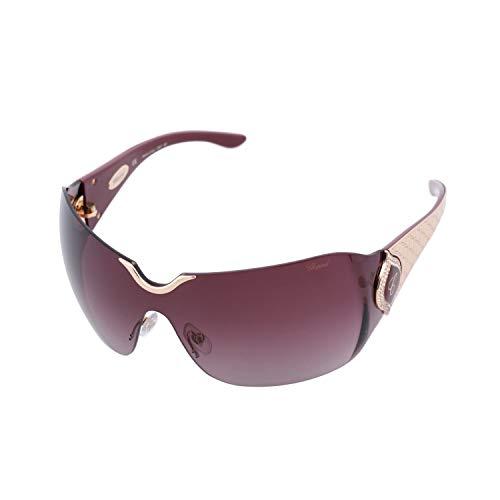 Chopard SCH 883 8FC Women Rimless Shield Purple & 23 KT Rose Gold Plated ()