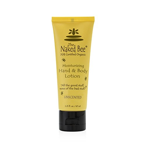 (The Naked Bee Unscented Hand & Body Lotion 2.25 oz)