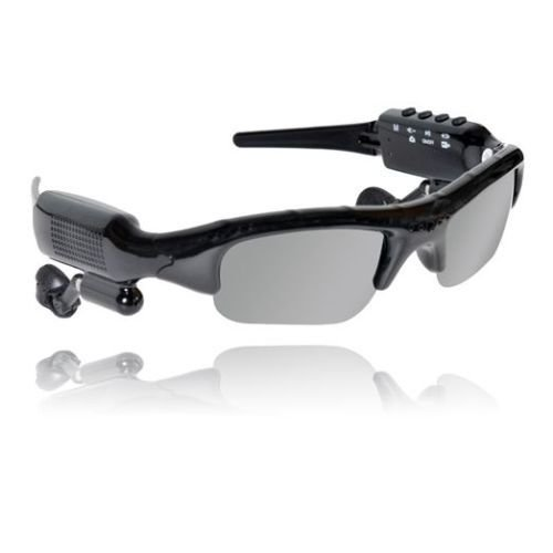youyoute 5 in 1 Bluetooth Sunglasses Sport Glasses Camera + Video + Mp3 +Built-in 8GB of Memory+bluetooth - Websites Sunglass