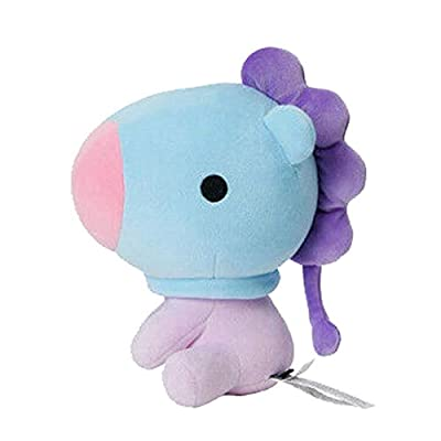 E-dance Kpop BTS Bangtan Boys Cute Baby Sitting Doll Soft Plush Dolls Stuffed Animals Plush Toys Mini Pillow Cushion Gift for A.R.M.Y( MANG): Toys & Games