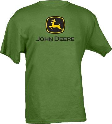 John Deere Logo T-Shirt - Men's Green, X-Large