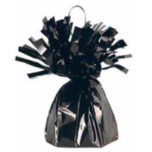 Black Metallic Balloon Weight, 6oz 6 Per