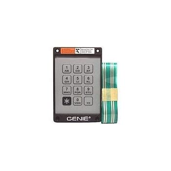 Genie Garage Door Opener Replacement Keypad And Ribbon For