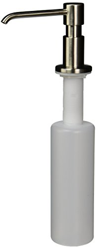 Danze D495958SS Parma Deck Mount Soap and Lotion Dispenser, Stainless Steel