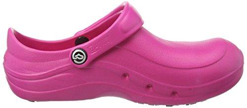 Toffeln - Eziprotekta - Chaussures de sécurité mixte adulte, Rose (Hot Pink), 41