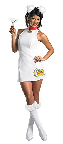 [Family Guy Sassy Brian 4-6 Halloween Costume - Adult 4-6] (5 Guy Halloween Costumes)