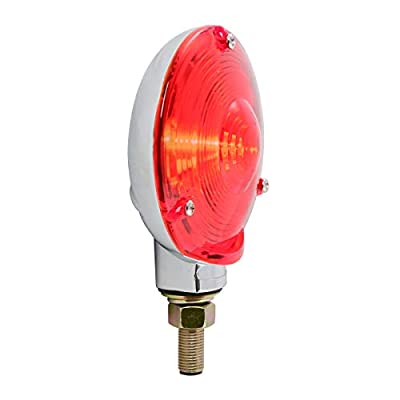 GG Grand General 80500 Red Light (Clear Die Cast 1 Face Combination, 3 Holes): Automotive