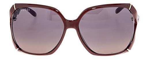 3400fadfa7 Amazon.com  GUCCI Bamboo GG0505S Red Brick Gold Sunglasses 3508  Clothing
