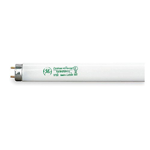 (Case of 36) GE 66468 F32T8/25W/SPP41/ECO 25-Watt 4100K T8 Linear Fluorescent Tube Light by GE