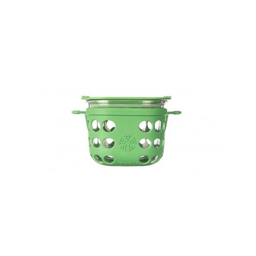 Glass Food Storage 2 Cup Grass Green Lifefactory 16 oz
