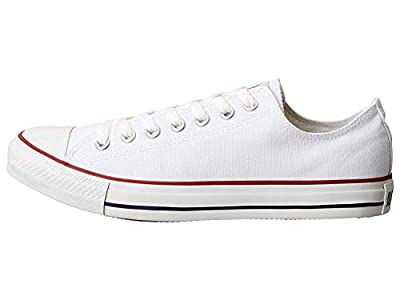 Converse Unisex Chuck Taylor All Star Low Basketball Shoe M7652 Size 6.5 JN, Optical White