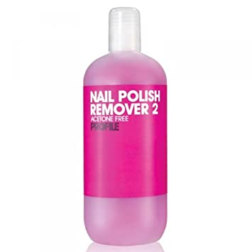 9a0fb6c0757 Salon System Profile Pink Nail Polish Remover 2 Acetone Free For Sculpted  and Artificial Nails 500ml: Amazon.co.uk: Beauty