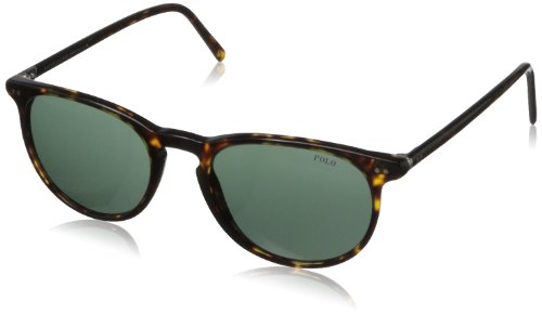 Polo Ralph Lauren Men's Ph3044 Round Sunglasses,Havana,52 (Ralph Prescription Sunglasses)