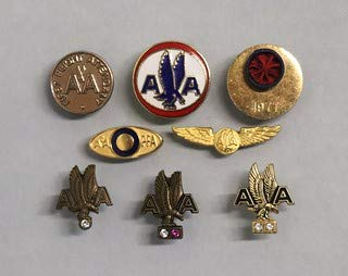 Photo: Photo ONLY: American Airlines Flight Attendant Lapel pins