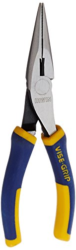 Inside Cutting Pliers - IRWIN VISE-GRIP Long Nose Pliers, 6-Inch (2078216)
