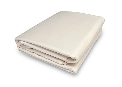 Prince Bedding 800 Thread Count 100% Egyptian Cotton Ultra Soft 1 Piece Top Sheet (Flat Sheet ONLY) Twin XL Size Ivory -