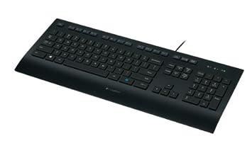 Logitech K280e - Teclado (USB, Oficina, QZERTY, Italiano, PC/Server