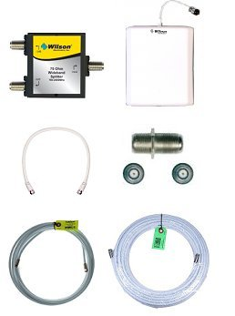 Wilson Electronics 75 Ohm Add on Kit for Ag Pro 70 and Db Pro (Db Pro Cell Booster Kit)