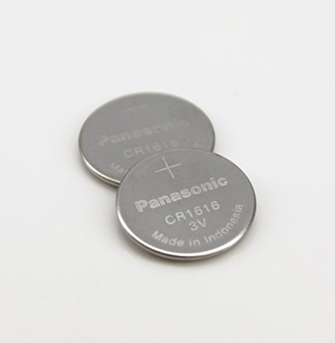 Panasonic CR1616 3V Coin Cell Lithium Battery, Retail Pack of 3 by Panasonic