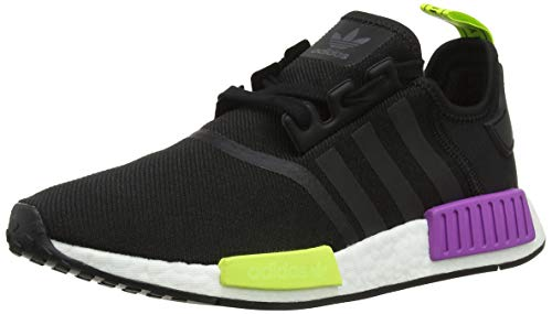 Shock adidas Herren Black NMD Core Derbys Core Black Eu r1 Purple Bianco Schwarz PPrfxndw