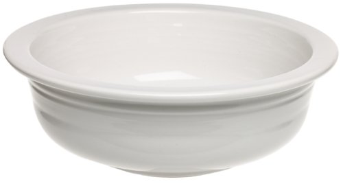 Blue Open Sugar Bowl - Fiesta 1-Quart Large Bowl, White