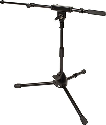 Ultimate Support JS-MCTB50 JamStands Series Short Mic Stand with Telescoping Boom ()