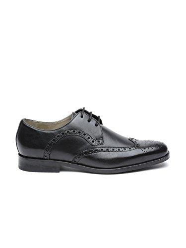 Buy Clarks Men Black Leather Brogues