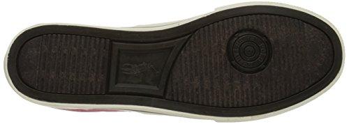 Polo Ralph Mens Lauren Vaughn Spets-up Sneaker Redwood