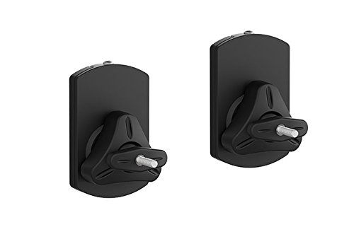 - ViiRO Pivoting Speaker Wall Mount Supports Multiple Mounting Options Like Single Thread, Dual Thread, Key Hole and 22 Lbs (10kgs)
