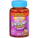 Flintstone Complete Gummi Size 70 Ct Flinstone Complete Gummy Multivitamin 70ct