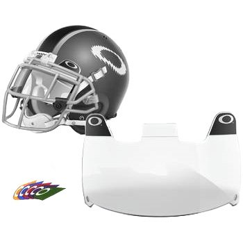 Oakley Shield Men's Football Helmet Accessories - Clear / One Size