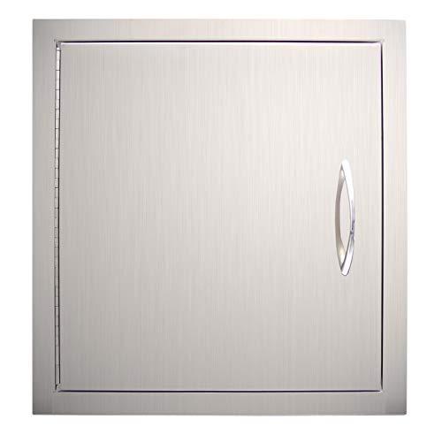 YXHARD Outdoor Kitchen Door, 304 Stainless Steel 18