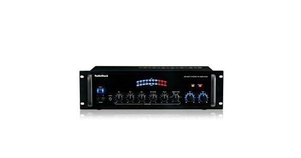 Amazon.com: Radio Shack 250 Watt PA Power sonido altavoz ...