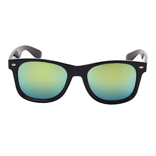 Oro Classic Men Sunglasses UV400 Eyewear Negro polarizadas Fashion Inlefen gafas Driving sol Vintage mujer Brillante de xOIBWU