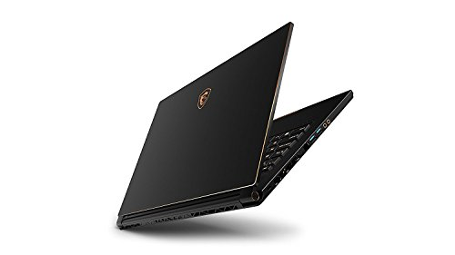 "MSI GS65 Stealth Thin 8RE-252ES - Ordenador portátil Gaming 15.6"" Full HD 144 Hz (Coffeelake i7-8750H, 16GB RAM, 512GB SSD, Nvidia GeForce GTX 1060 6GB, Windows 10 Advanced) Teclado QWERTY Español 5"