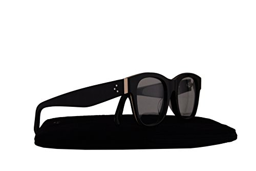 Celine CL41369/F Eyeglasses 51-21-145 Black w/Demo Clear Lens AUB CL - Frames Celine Eyeglass