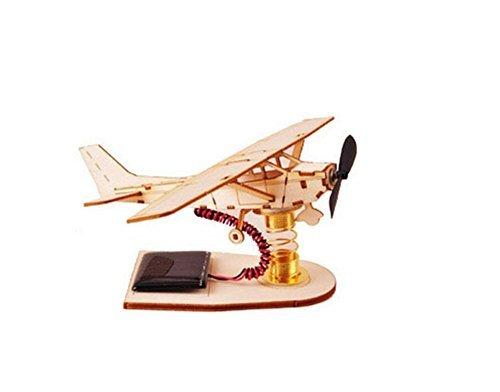 - Young Modeler YOUNGMODELER Desktop Wooden Assembly Model Kits. (Solar Light Airplane)